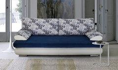 Диван Диван DM-мебель Фиджи (3М, белый/синий)