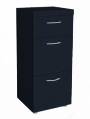 Комод Комод Глазовская мебельная фабрика 1 Проект-17 (черный)