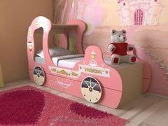 Детская кровать Детская кровать СлавМебель Карета