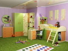 Детская комната Детская комната Любимый Дом Фруттис