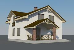 Лучший дом Проект дома М031913