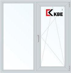 Окно ПВХ Окно ПВХ KBE 1310*1400 1К-СП, 5К-П, Г+П/О