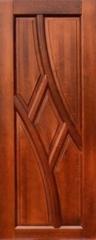 """Межкомнатная дверь Межкомнатная дверь Ока ДГ """"Глория"""" (Ольха махагон)"""