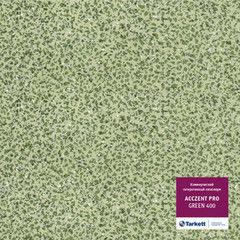 Линолеум Зеленый линолеум Tarkett Acczent Pro Green 400
