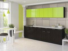 Кухня Кухня Артем-мебель Лана ДСП венге / лайм