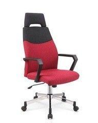 Офисное кресло Офисное кресло Halmar Olaf черно-бордовый