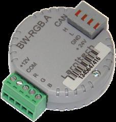 Умный дом Larnitech Модуль управления светодиодными лентами BW-RGB