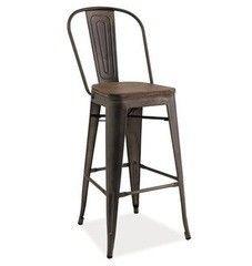 Барный стул Барный стул Signal Loft H-1 (темный орех/графит)