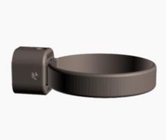 Водосточная система Docke Lux Хомут универсальный (шоколад)