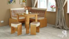 Кухонный уголок, диван ТриЯ Кантри-мини Т2 исп.1 МФ-105.035