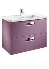 Мебель для ванной комнаты Roca Тумба под умывальник The Gap 70 (ZRU9302741) фиолетовая