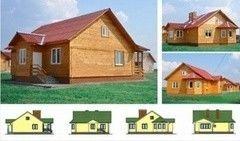 Каркасный дом Каркасный дом Гомельдрев Проект Днепр-2
