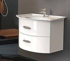 Мебель для ванной комнаты Belux Тумба Версаль НП80-02 белая