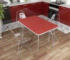 Обеденный стол Обеденный стол Дисави Титан красный