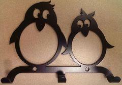 Полкодержатель, крючок Отис-сервис Крючок декоративный Пингвины