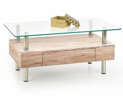 Журнальный столик Halmar Margot (дуб Сан-Ремо)