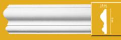Лепной декор Европласт Молдинг с гладким профилем 1.51.303