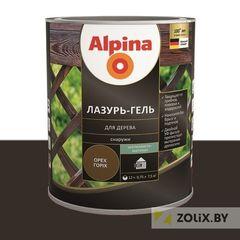 Защитный состав Защитный состав Alpina Лазурь-гель для дерева чёрный (2,5 л)