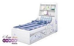 Детская кровать Детская кровать Сканд Мебель Леди-3 с изголовьем (кр)