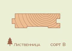Доска пола Доска пола Лиственница 27*100мм, сорт B