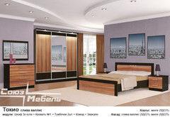 Спальня Союз-Мебель Токио (слива валлис) шкаф-купе