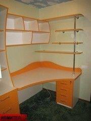 Детский стол Ивмител Модель 23ДС (бело-оранжевый)