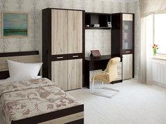 Спальня Интерлиния Коламбия-5 (дуб венге/дуб серый)