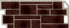 Фасадная панель FineBer Камень Natur (коричневый)