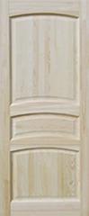 Межкомнатная дверь Межкомнатная дверь Поставский мебельный центр ДГ 16 Неокрашенная