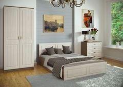 Спальня Настоящая мебель Ницца №2 ясень