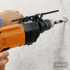Услуга Сверление сквозного отверстия в стене (кирпич, пеноблок)