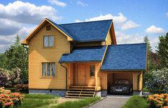 Каркасный дом Каркасный дом Зодчий Канадец-1