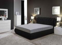 Кровать Кровать ZMF Надежда (сп. место 180х200 см., черный)