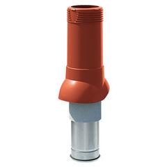 Кровельная вентиляция ТехноНиколь Вентиляционный выход D125/160 (H 500) красный