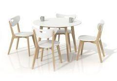 Обеденный стол Обеденный стол Halmar Peppita (белый)