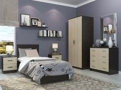 Спальня Настоящая мебель Ронда венге/беленый дуб