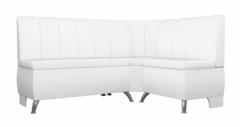 Кухонный уголок, диван Mebelico Кантри (экокожа белый)