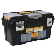Ящик для инструмента ГЕФЕСТ 18 мет.замки ( с консолью и коробками) (М2944)