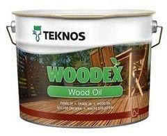 Защитный состав Защитный состав Teknos Woodex Wood Oil (коричневый) 9 л