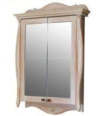 Мебель для ванной комнаты Атолл Шкаф зеркальный Ривьера apricot