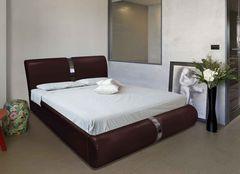Кровать Кровать ZMF Милана (сп. место 140х200 см., бордо)