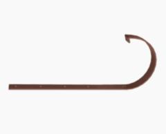 Водосточная система Docke Standard Кронштейн желоба металлический (шоколад)