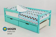 Детская кровать Детская кровать Бельмарко Skogen мятный