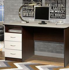 Письменный стол Мебель-Класс Альянс МКД-218 (венге/дуб шамони)