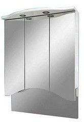 Мебель для ванной комнаты MISTY Зеркало-шкаф Мимоза 75 дуга