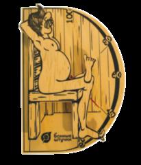 """Аксессуар для бани Банные штучки Термометр """"В здоровом теле — здоровый дух"""" арт. 18003"""