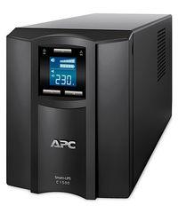 Источник бесперебойного питания Источник бесперебойного питания Schneider Electric APC Smart-UPS C 1500ВА (SMC1500I)