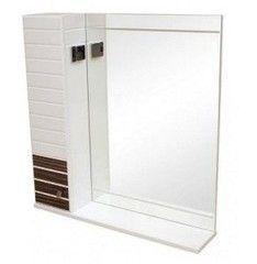 Мебель для ванной комнаты Аква Родос Зеркало со шкафчиком Империал 65 (венге)