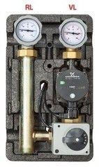 """Комплектующие для систем водоснабжения и отопления Huch EnTEC Насосная группа 101.20.025.02GFPL D-MK 1"""" Alpha2 25-60"""