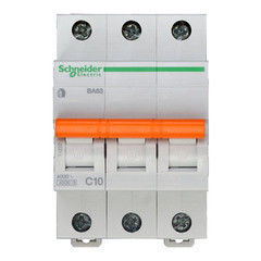 Schneider Electric Автоматический выключатель Домовой ВА63 3П 10A C 4,5 кА 11222
